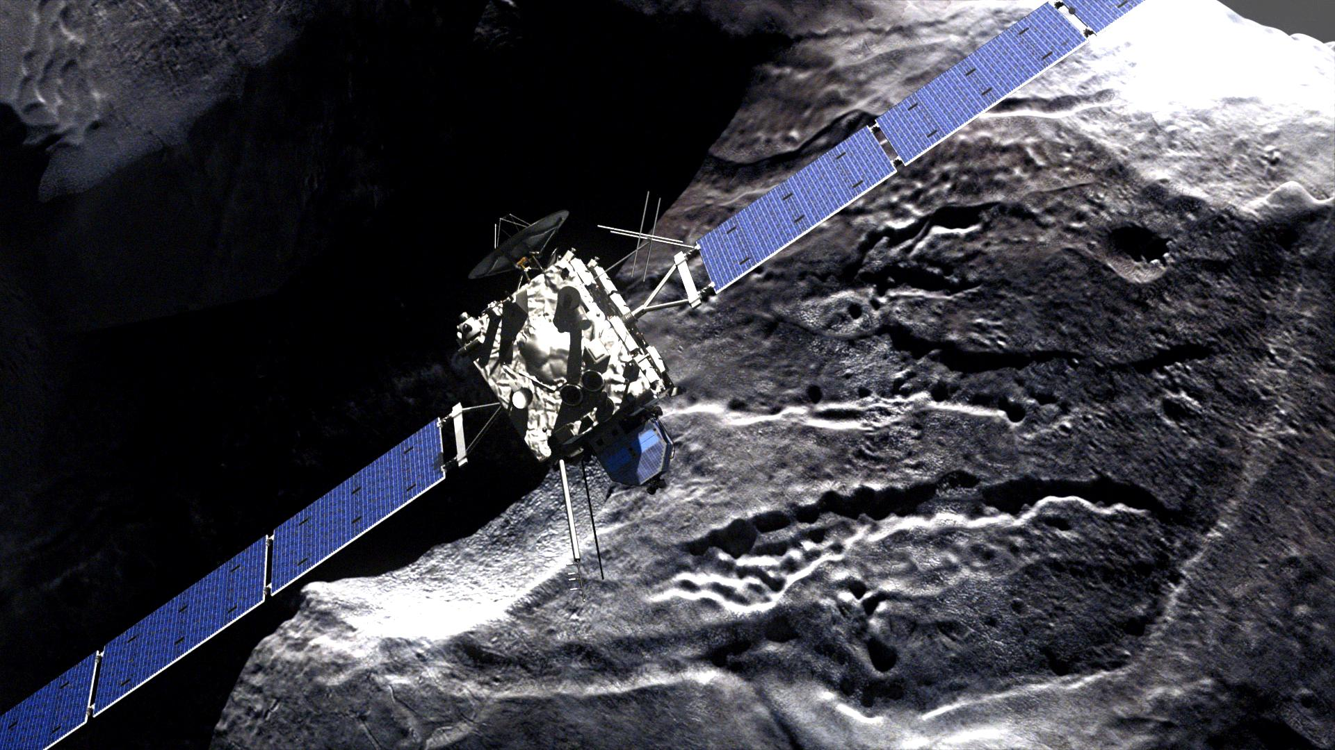 Rosetta - comet fly-by